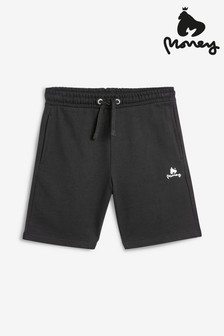 Money Label Shorts, Schwarz