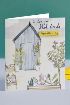 Shed Father's Day Card