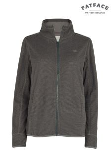 FatFace Charcoal Marcia Fleece Zip Through