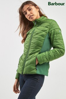 Barbour® Green Longshore Quilted Padded Jacket
