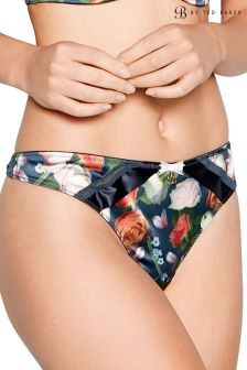 B by Ted Baker Navy Kensington Floral Thong