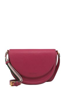 Cath Kidston® Berry Solid Stratton Saddle Bag