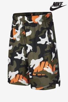 Nike Dri-FIT Green Camo Shorts