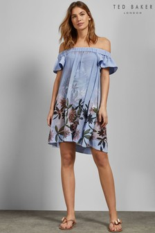 Ted Baker Blue Belriaa Dress Cover Up