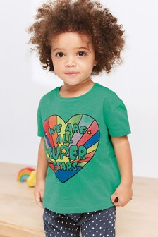 Slogan T-Shirt (3mths-7yrs)