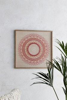 3D Spiral Framed Art