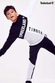 Timberland® Black/Grey Colourblock Hoody