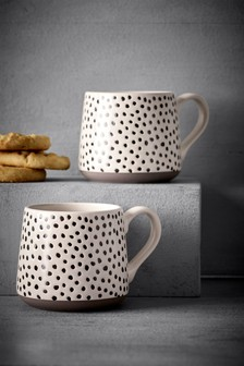 Set of 2 Arlo Mugs