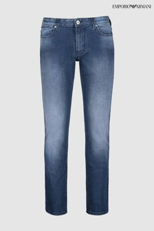 Emporio Armani Light Wash J06 Slim Fit Jean