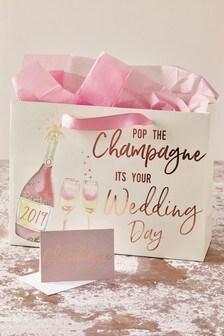 """""""Wedding Day"""" Hochzeitsgeschenktüte"""