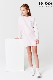 BOSS Pink Sweater Dress
