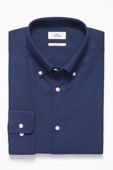 Оксфордская рубашка из немнущейся ткани
