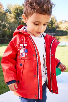 Printed Anorak (3mths-7yrs)
