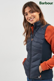 Barbour® Navy Padded Pebble Gilet