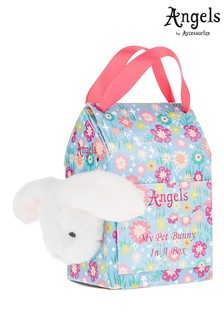 Sac avec peluche lapin Angels by Accessorize blanc