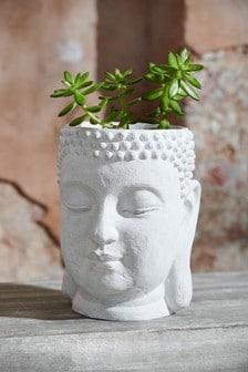 Вазон в виде головы Будды