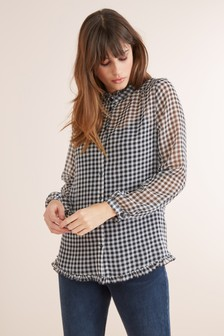 Frill Soft Shirt