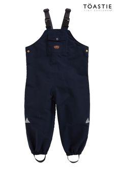 Töastie® Kids Navy Waterproof Dungarees
