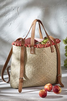 Pom Pom Insulated Picnic Backpack