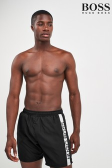 BOSS Black Contrast Logo Swimshort