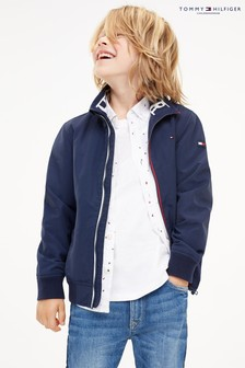 Tommy Hilfiger Blue Essential Bomber Jacket