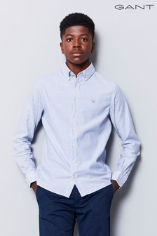 GANT Teen Blue Archive Oxford Striped Shirt