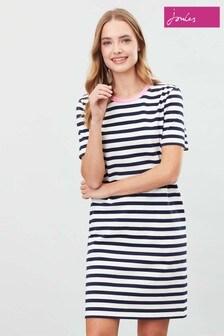 Joules Blue Liberty A-Line Jersey Dress