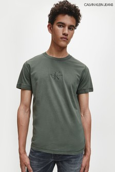 Calvin Klein Jeans Green Acid Wash T-Shirt