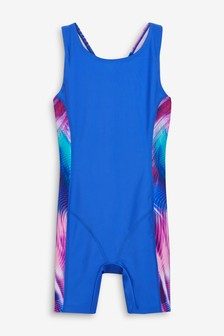 Sports Long Leg Swimsuit (3-16yrs)