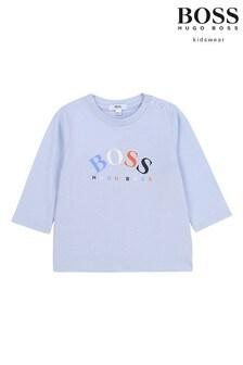 BOSS Blue Multi Logo T-Shirt