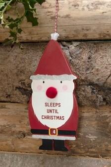 Sleeps Until Santa Countdown Calendar