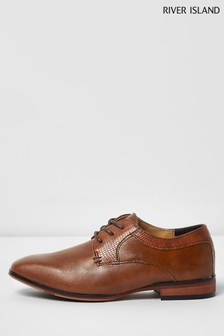 River Island Tan Pointed Shoe