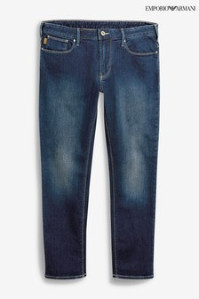 Emporio Armani J06 Slim-Fit Jeans in mittlerer Waschung