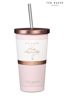Ted Baker Stainless Steel Tumbler And Straw