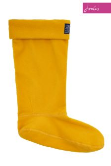 Joules Gold Fleece Welly Sock