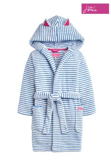 5c4f1a938b Joules Blue Teddy Novelty Dressing Gown