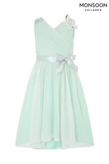 Monsoon Green Mariposa Dress