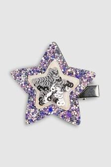 Broche de pelo con estrellas adornadas