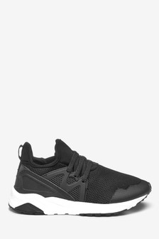833457370044 Elastic Lace Trainers (Older)