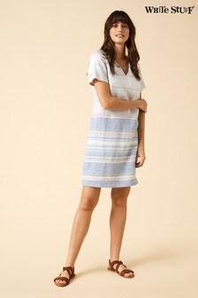 White Stuff Blue Chalkboard Dress