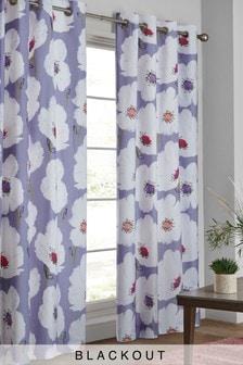 Elisse Floral Eyelet Curtains