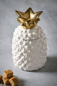 Pineapple Shape Treat Jar