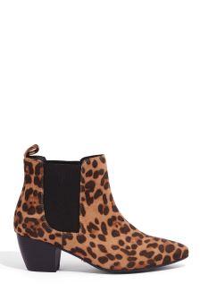 Oasis Animal Camilla Cuban Heel Boot
