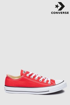 Womens Red Trainers | Ladies Red Low