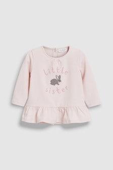 兔子姊妹T恤 (0個月至2歲)