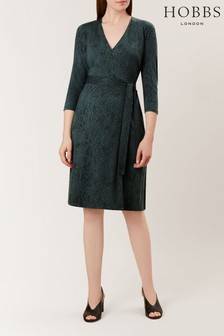 Hobbs Green Delilah Wrap Dress