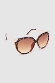 Tipped Cat Eye Sunglasses