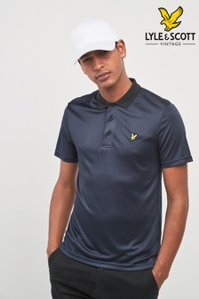 Lyle & Scott Golf Microstripe Polo