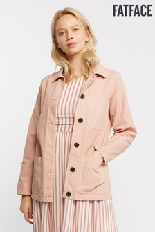 FatFace Pink Worker Jacket
