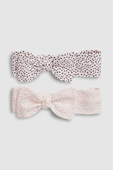 Spot Headbands Two Pack (0-18mths)